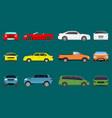 car vehicle transport type design travel race vector image vector image