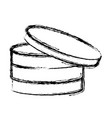 disks database storage vector image vector image