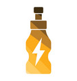 energy drinks bottle icon vector image