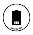 Gas boiler icon vector image vector image