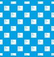 january calendar pattern seamless blue vector image vector image