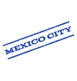 Mexico City Watermark Stamp vector image vector image