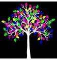 neon tree vector image vector image