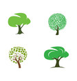 Stylized tree collection