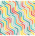 abstract of line pattern zig zag geometric vector image vector image