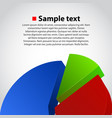 business info graphic diagram background vector image vector image