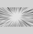 crash zoom template vector image