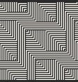 geometric seamless pattern with zigzag lines vector image vector image