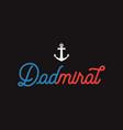 nautical adventure style vintage print design vector image vector image