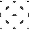 pie pattern seamless black vector image vector image