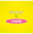 surfing summer lettering inspirational vector image vector image