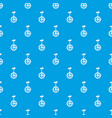 unicycle pattern seamless blue vector image vector image