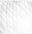 gray and white color wave abstract background vector image vector image