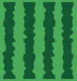 green cartoon watermelon texture background vector image vector image