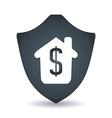 home insurance design vector image vector image