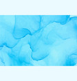 light blue watercolor texture background vector image vector image