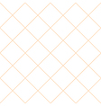 Orange Grid White Diamond Background vector image vector image