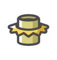 pipe welding symbol icon cartoon vector image