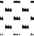 protective castle of belgiumthe dark belgian wolf vector image vector image