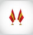 spain flag template design vector image