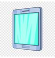 tablet icon cartoon style vector image vector image