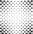 Black white curved shape pattern background vector image vector image