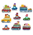 Cars to Travel vector image