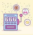 Casino slot machine jackpot leisure luck game