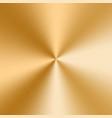 golden cone gradient vector image vector image