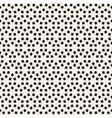 Seamless Black and White Lattice Pattern vector image