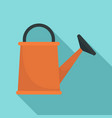 watering can icon flat style vector image