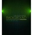 Spotlight background green vector image