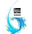 aqua background vector image vector image