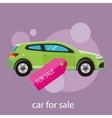 Car sale design template vector image vector image