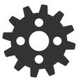 Cogwheel Flat Icon vector image vector image