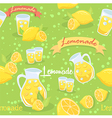 Lemonade Seamless Pattern Green vector image vector image