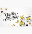 merry christmas holiday gifts background template vector image vector image