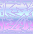 retro futuristic geometric pattern vector image vector image