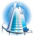 Skyscrapercity vector image vector image