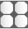 Photo frame corners vector image