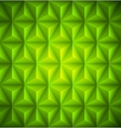 Green Geometric abstract low-poly paper background vector image