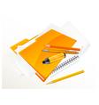 note pad pen folder felt tip v vector image vector image