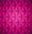 Pink Geometric abstract low-poly paper background vector image