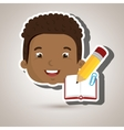 student school element icon vector image vector image