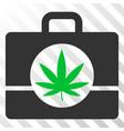 cannabis case eps icon vector image