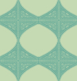Geometric corner frame pattern ethnic tile