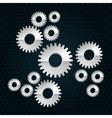Industrial wheel design vector image