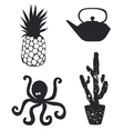 Set from unique icons vector image vector image