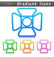 spotlight symbol icon design vector image vector image