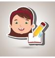 student school element icon vector image vector image